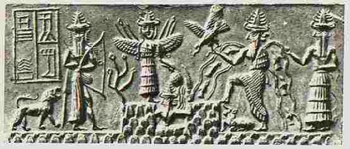 Coming from the Ancient Sumerians