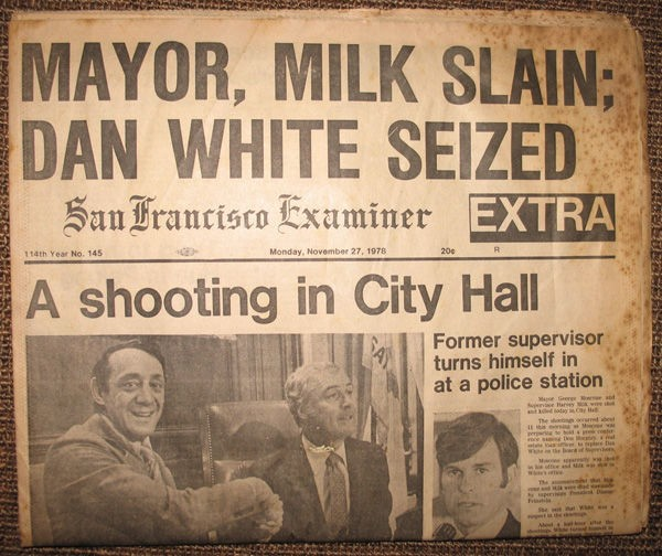 Harvey Milk, 1978